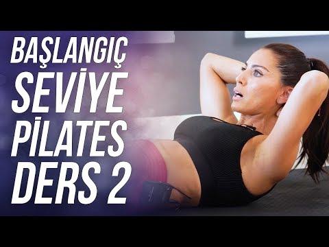 Başlangıç Seviye Zayıflama Hareketleri Evde Egzersiz Videoları (Ders 2)