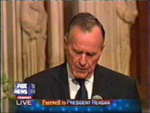 South Florida's First News w Jimmy Cefalo - Watch President George HW Bush's Speech at Reagan's Funeral
