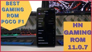 POCO F1 | God Like Gaming Performance | HN Gaming Rom + AEXSESH66 Kernel + Revx Beta 3 Thermals