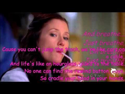 Breathe-Lexie Grey (Chyler Leigh) with Lyrics