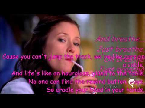 Breathe-Lexie Grey (Chyler Leigh) with Lyrics