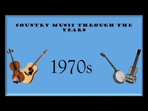 Country Music Through The Years: 1970s