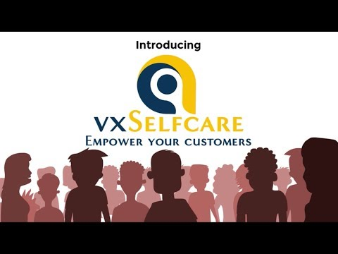 vxSelfcare - empower your customers