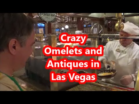 Crazy Omelets and Antiques at the Main Street Station Hotel in Las Vegas