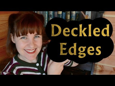 Deckled Edges — Yay or Nay? | Book Production and Design