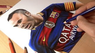 Tribute to Andres Iniesta - Speed Drawing