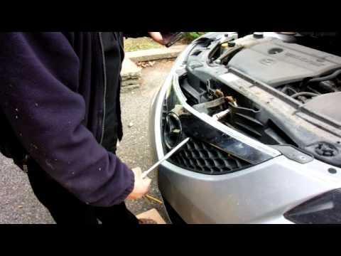 Hood Latch Repair Mazda 3 French Youtube
