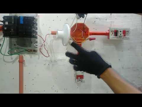 Pano mag wiring ng exhaustfan na nakaparallel sa ilaw - House dr tutorial