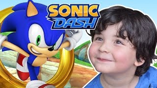 Jogando com Pedro - Sonic Dash