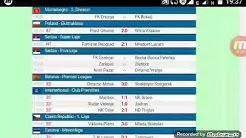 Yesterday's football fixtures and result firm livescores cz