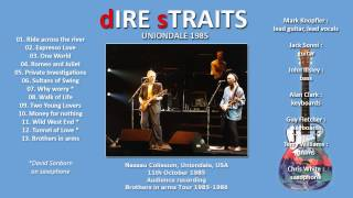 "Dire Straits ""Tunnel of Love"" 1985 Uniondale (24 minutes!) AUDIO ONLY"
