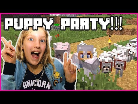 Puppy Party in my Realm