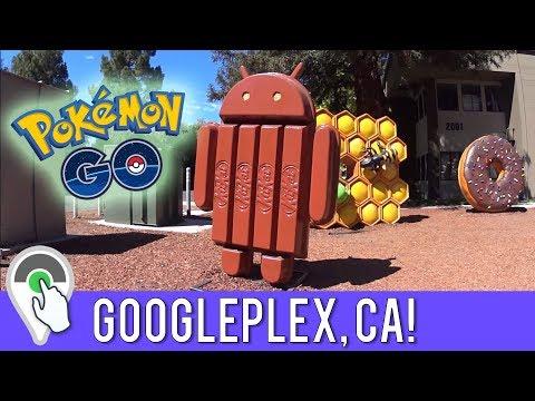 POKEMON GO AT THE GOOGLEPLEX! 🚲 Destination Pokemon GO at Google Headquarters in San Mateo, CA