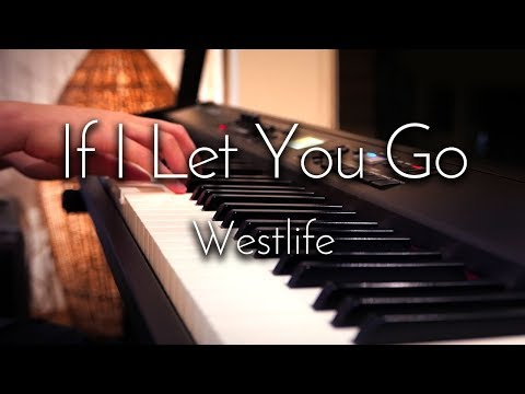 Westlife - If I Let You Go - SLS Piano Cover