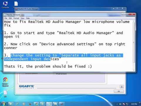 audio is low on windows 10