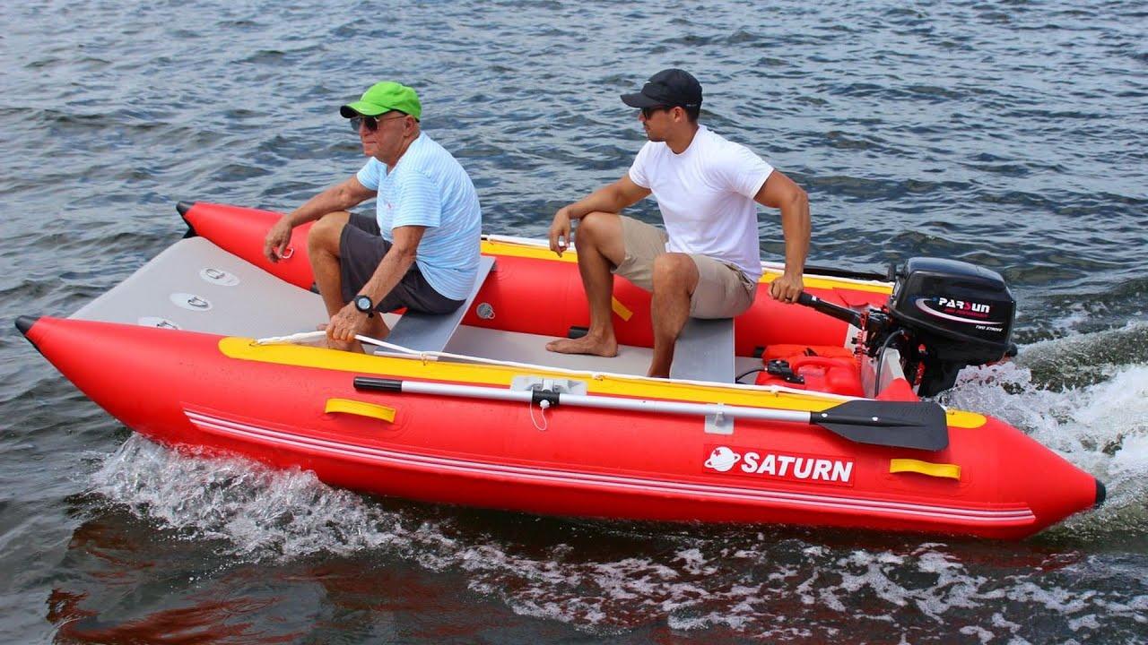 11' Inflatable Catamarans MC330