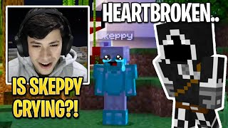 BadBoyHalo Made Skeppy *CRY* For The First Time in Dream SMP History!