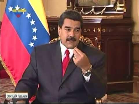 """Entrevista realizada al presidente venezolano Nicolás Maduro en el programa """"José Vicente Hoy"""""""