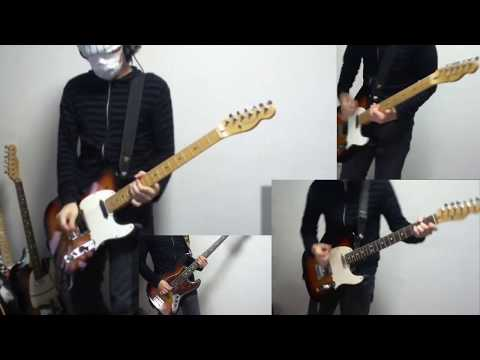 "Radiohead ""Electioneering"" All guitar cover"