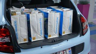 Nouvelle Renault Twingo – Grâce à son moteur à l'arrière, vous avez une modularité hors pair !