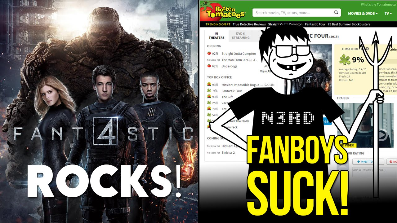 Why Fantastic Four Rocks (and Fanboys Suck!) - YouTube