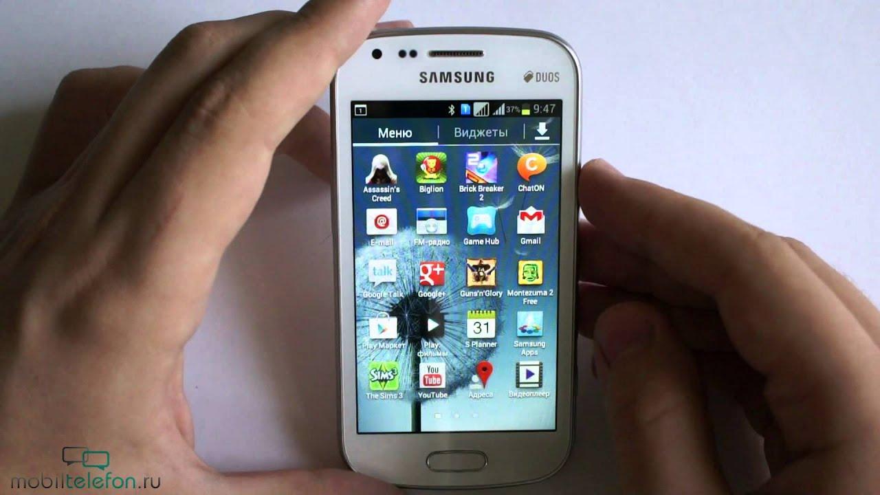 U041e U0431 U0437 U043e U0440 Samsung Galaxy S Duos  S7562   Review