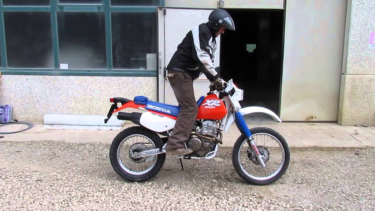 honda xr 600 r 88 condizioni eccezionali youtube. Black Bedroom Furniture Sets. Home Design Ideas