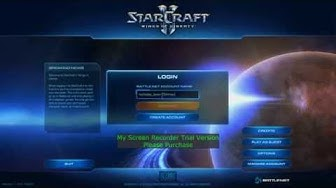Starcraft II Login Problem