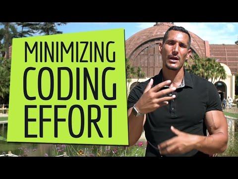 Tools For Minimizing Coding Effort