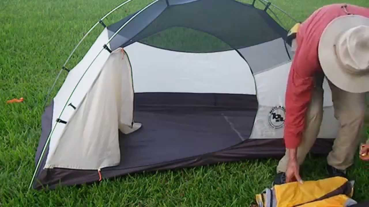 Ten Minute Tent Quick Build Big Agnes Fairview 1 Backpacking Tent 2078 - YouTube : big agnes fairview 3 tent - memphite.com