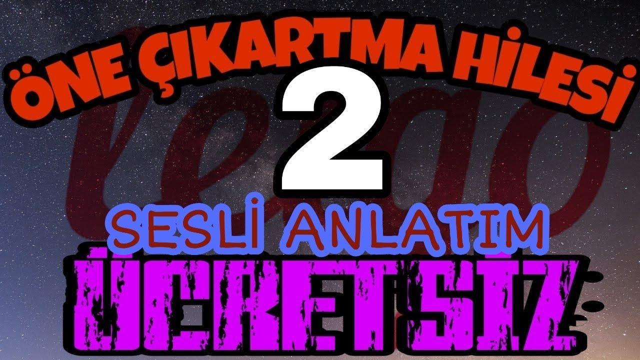 LETGO ÖNE ÇIKARMA HİLESİ 2 (SESLİ ANLATIM)