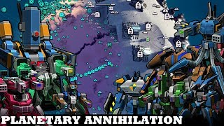 Play like this, not like this // Planetary Annihilation: Titans