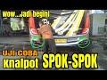 GILA  Uji coba Suara Knalpot SPOK SPOK bus Po Haryanto tiada lawannya