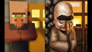 Wie würden MOBS aus Minecraft in REAL LIFE AUSSEHEN?