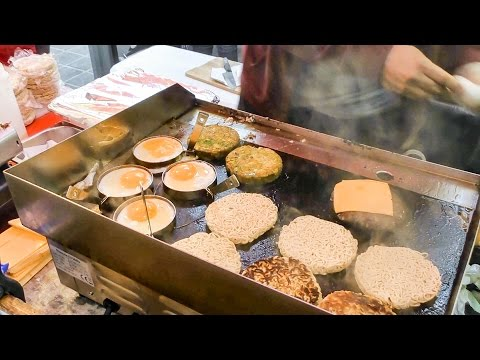 Ramen Burger Tasted a Greenwich Market. London Street Food