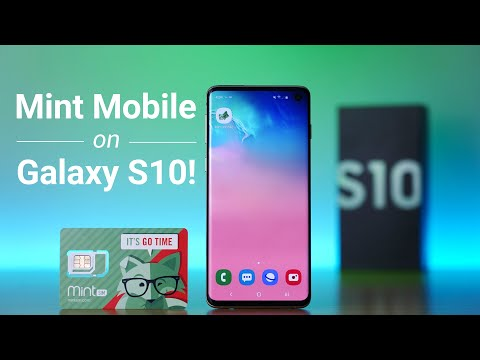 Testing Mint Mobile On Galaxy S10!