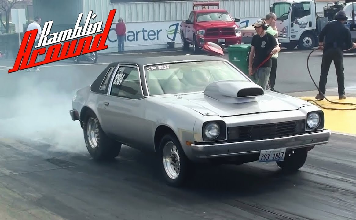 small resolution of 10 second chevy monza street legal drag car