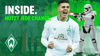 Matchwinner Milot Rashica der beste Stormtrooper | WERDER.TV Inside nach Hannover 96