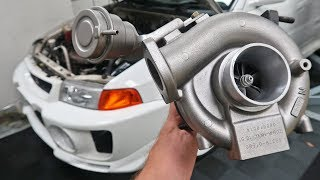 NEW TURBO ON THE EVO 5!