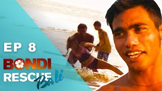 Husband Pushes Wife Underwater During Rescue | Bondi Rescue: Bali - Episode 8 (FULL Episode)