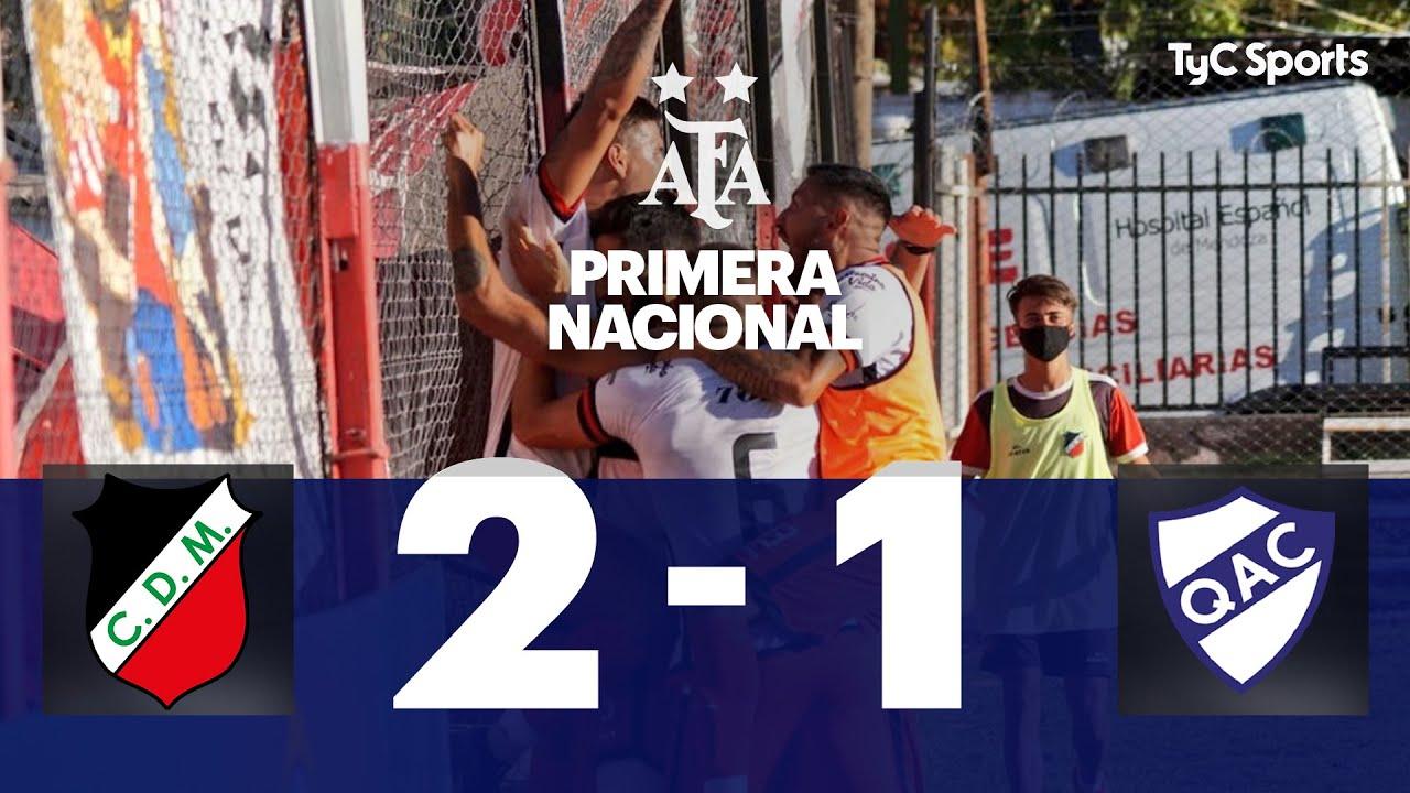 Deportivo Maipú 2-1 Quilmes | Primera Nacional