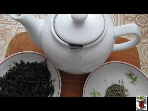 #Чай с чабрецом. Как заварить черный чай