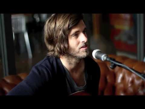 Graham Colton performs 'Pacific Coast Eyes' at KYX Radio in Holland '12