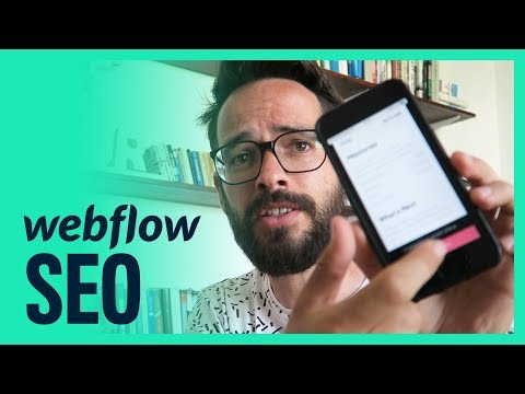Improving SEO With Webflow