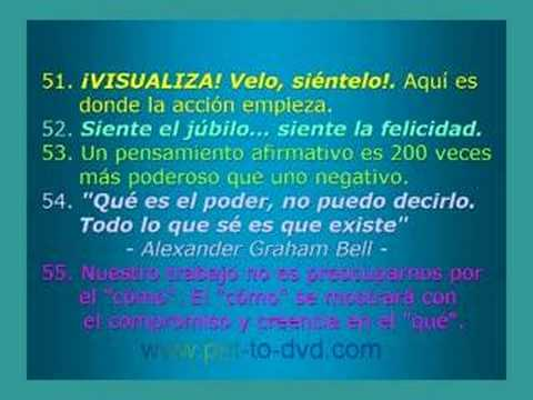 EL SECRETO - 100 Citas del Libro - - YouTube