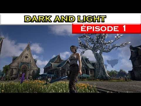 Dark and Light FR / #1 /  les débuts sur serveur x2 / streaming vf