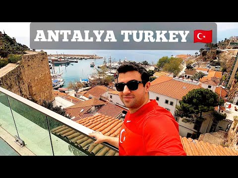 ANTALYA Turkey EXPLORING Old Town Kaleiçi, Food, Old Bazaar & MORE