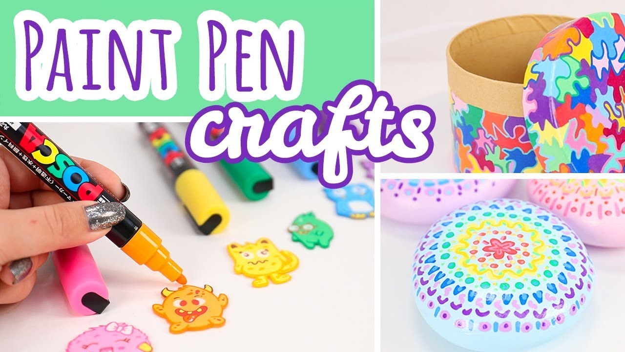 3 Posca Paint Pen Projects | Easy Paint Marker Crafts