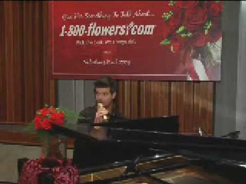 Robin Thicke and 1800Flowers celebrate Valentine's Day 2009