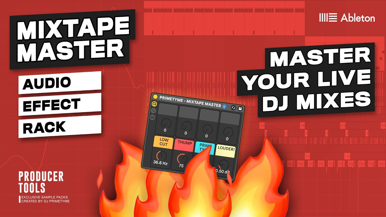Mixtape Master - Master Your DJ Mixes In 2 Minutes Inside Ableton